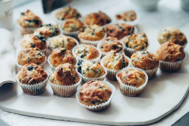 Netradiční slané velikonoční muffiny.