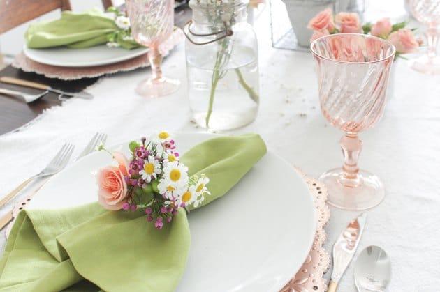 Další ukázka výzdoby velikonočního stolu