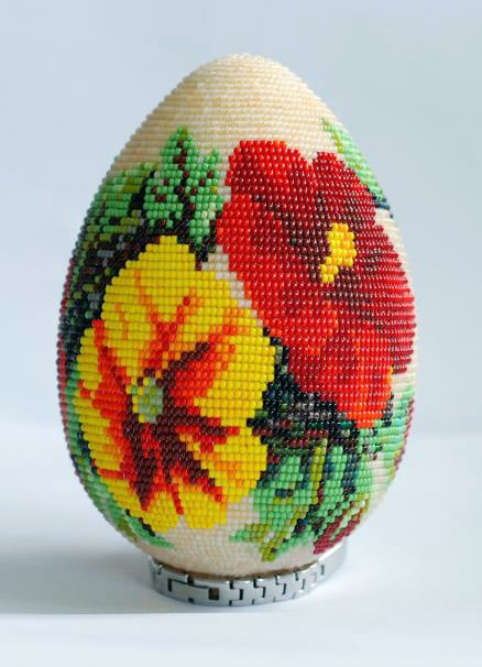 Vajíčko s korálky