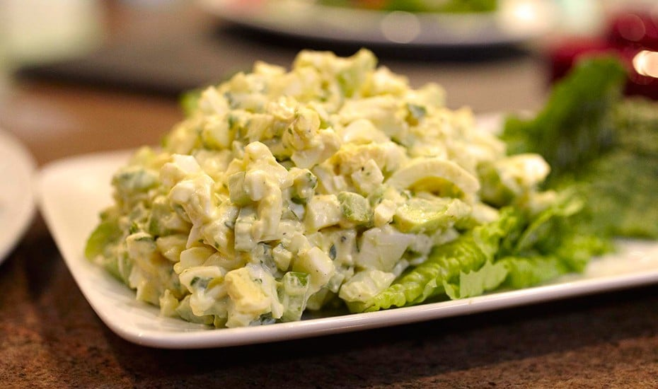 Skvělý recept na vajíčkový salát