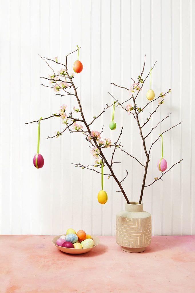 Návod na velikonoční stromeček