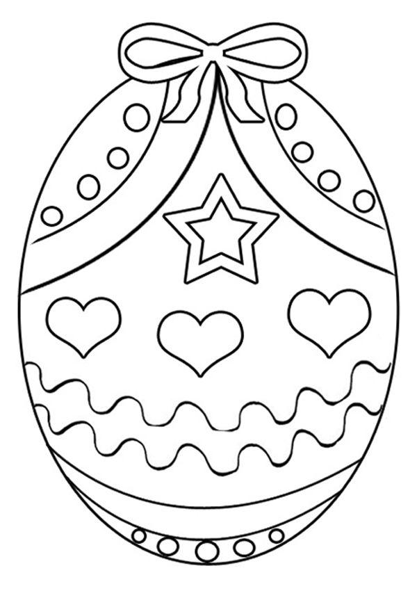 Šablona na velikonoční vejce