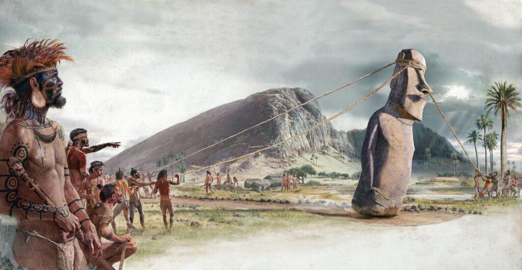 Historie Velikonočního ostrova.