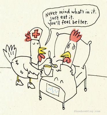 Slepičí vtip na Velikonoce.